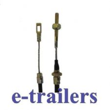 1430mm FIXED EYE TRAILER BRAKE STEEL CABLE  FOR AL-KO ALKO